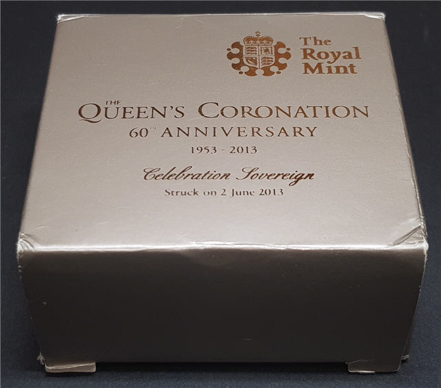 2013 Coronation Celebration Sovereign Box