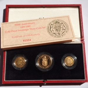 3 Coin Sovereign Sets