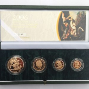 4 Coin Sovereign Sets