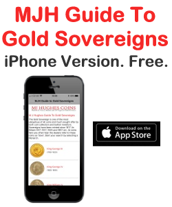 MJH Guide to Gold Sovereign iPhone App