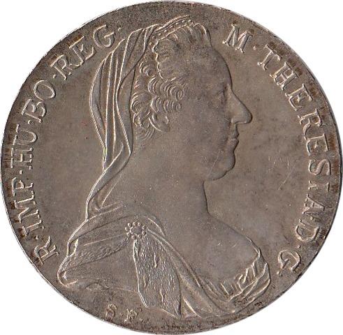 Maria Theresa Thaler Obverse