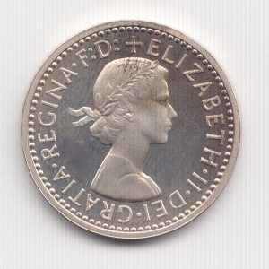 Maundy Queen Elizabeth Obverse Designed By Mary Gillick
