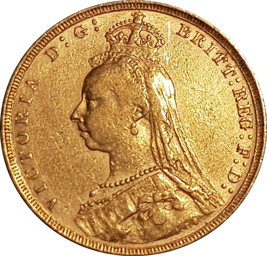 Queen Victoria Jubilee Head